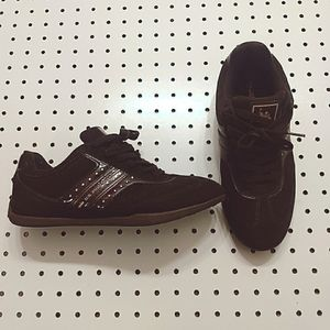 US Polo Assn Brown Suede Shoes, Size 8.5W